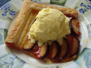 Tart and Ice Cream