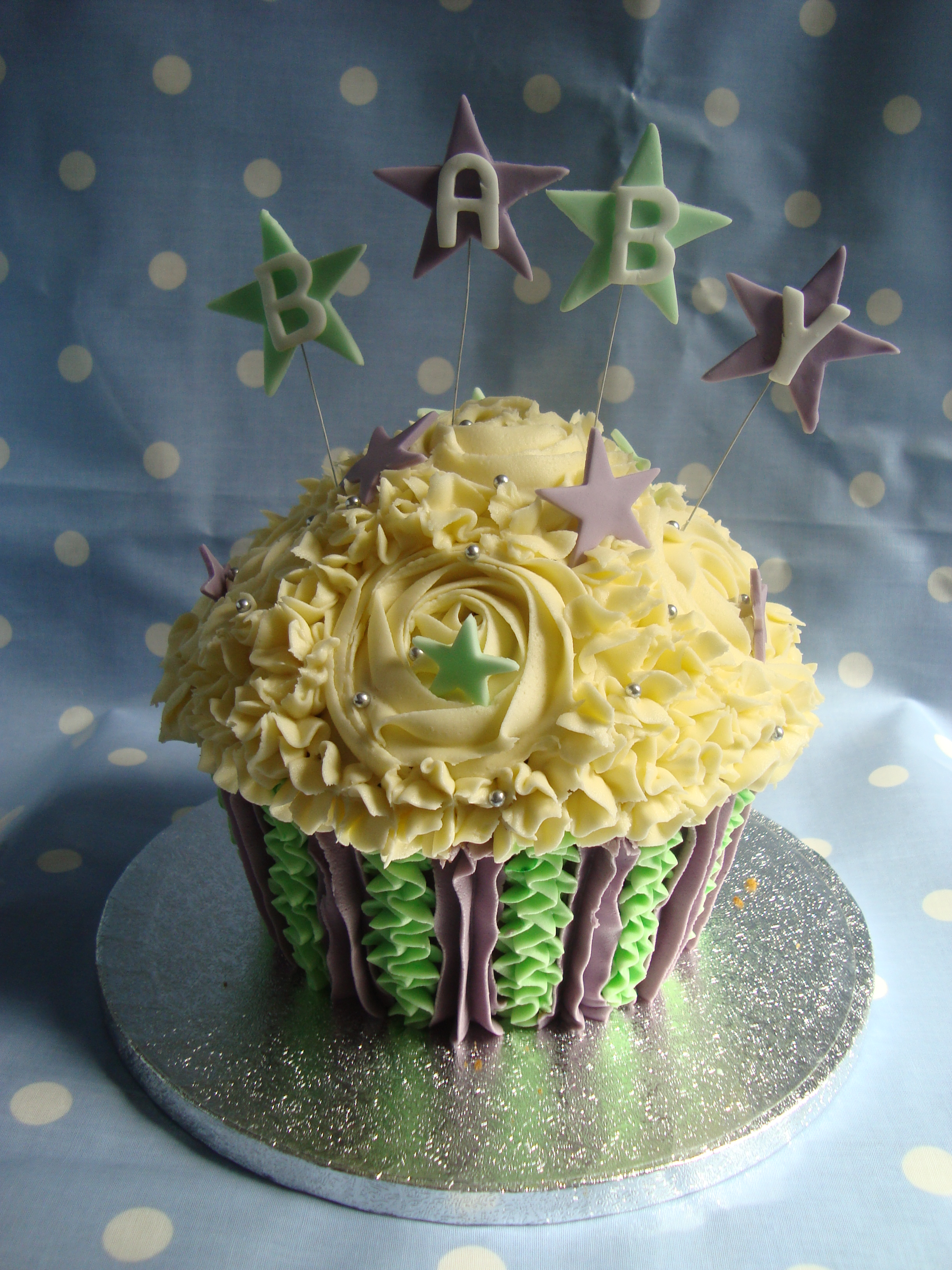 Baby Shower Giant Cupcake Cooking Cakes Amp Children