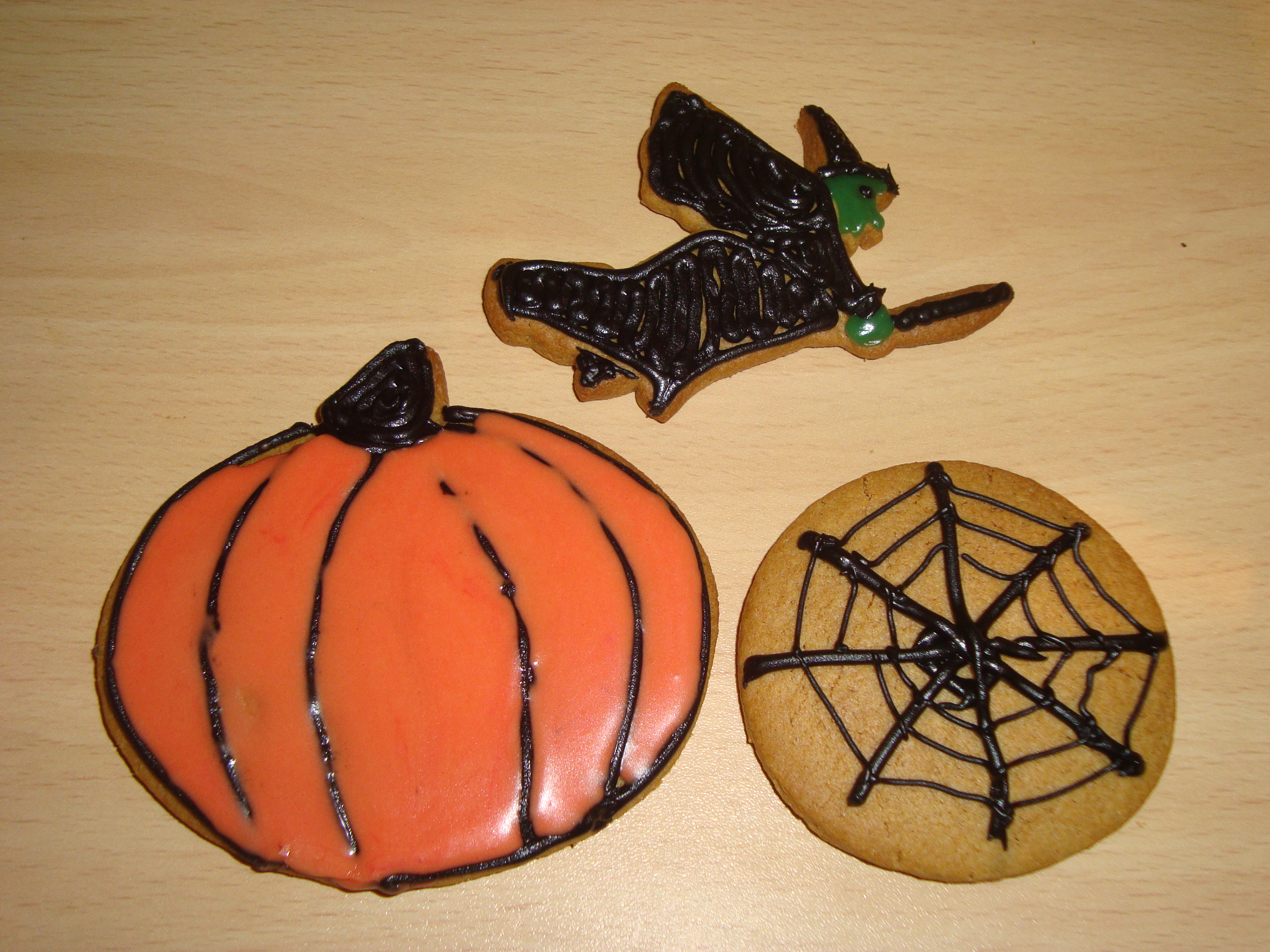 maybe - Halloween Gingerbread Cookies