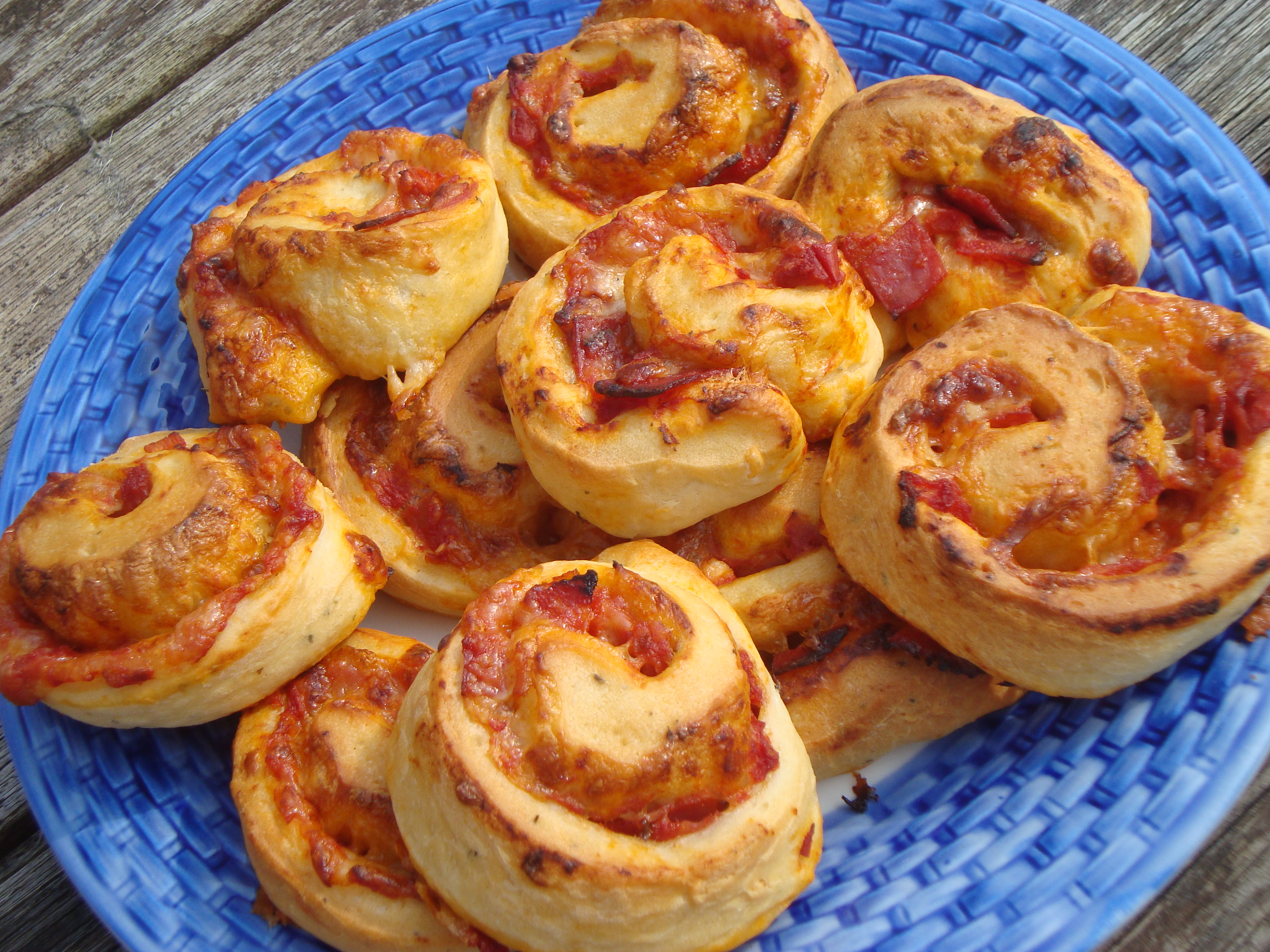 April Bake It! recipe – pizza rolls | Cooking, Cakes ...