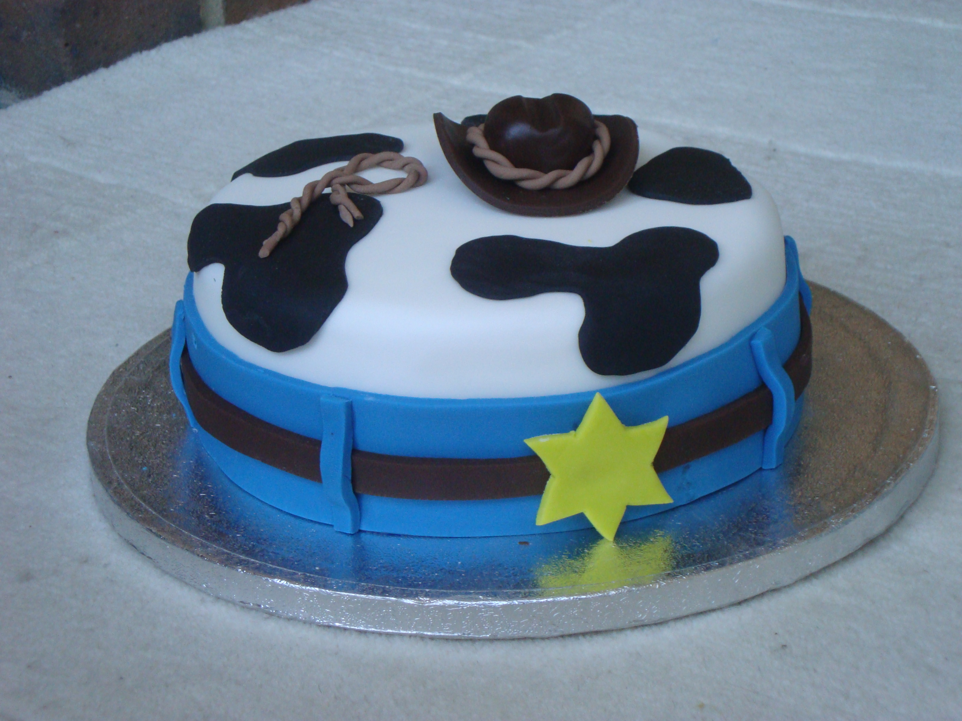 Western Birthday Cake For Babies First Birthday All Decorations